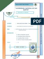 INSERCION DEL PERU EN EL CONTEXTO ECONOMICO INTERNACIONAL:
