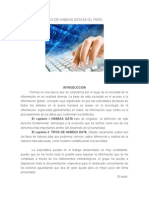 Definición y Tipos de Habeas Data en El Perú