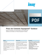Aquapanel - Placa Aquapanel Outdoor (2014-01)
