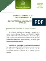 0043.IDEAS DEL CAMBIO nº 43 AUTORIDAD PUBLICA