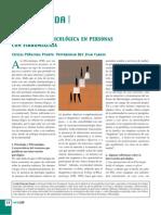 INTERVENCIÓN PSICOLÓGICA EN PERSONAS CON FIBROMIALGIA