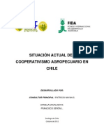Documento Situación Actual Del Cooperativismo Agropecuario en Chile 2012