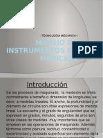 Manejo de Instrumentos de Medicion