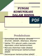 Fungsi Komunikasi Dalam Bisnis (Kuliah i) (1)