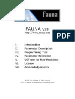 Fauna Manual