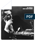 Serge Chaloff - Complete Discography