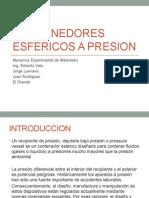 Contenedores Esfericos a Presion