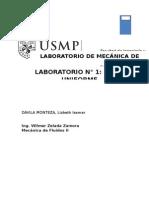 Laboratorio N 1 Flujo Uniforme MFII