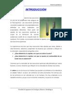 4to Informe - Cinética Química