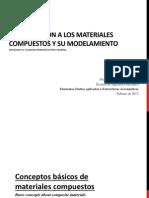 Introducción a Los Materiales Compuestos