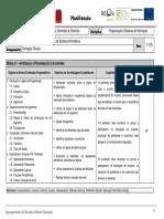 Planificação PSINF 1P