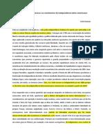 As Ideias Da Rev Franc e Os Movimentos de Independencia Latino-Americanos