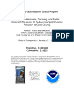 Technical Assistance, Planning, and Public Outreach Measures to Reduce Nonpoint Source Pollution in Cook County (310-04-08)