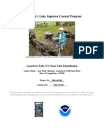 Gooseberry Falls CCC Stone Table Rehabilitation (306a-02-08)