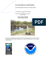 Carlton SWCD Coastal Nonpoint Technical Assistance Project (310-03-08)