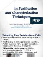 3protein Purification and Characterization Techniques