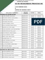 Resultados Examenes-ceid Marzo Junio-2015