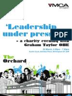 'Leadership Under Pressure'