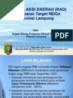Paparan RAD MDGs.ppt