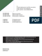 BCS-222 Danish Manual