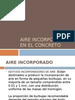 96030795 Aire Incorporado en El Concreto
