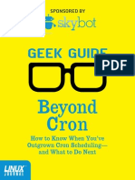 Beyond Cron