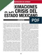 Crisis Etado Mexicano