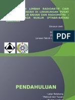 Presentasi Seminar KP (Penglahan Limbah Radioaktif Cair)