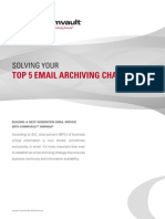 Solving Your Top 5 Email Archiving Challenges