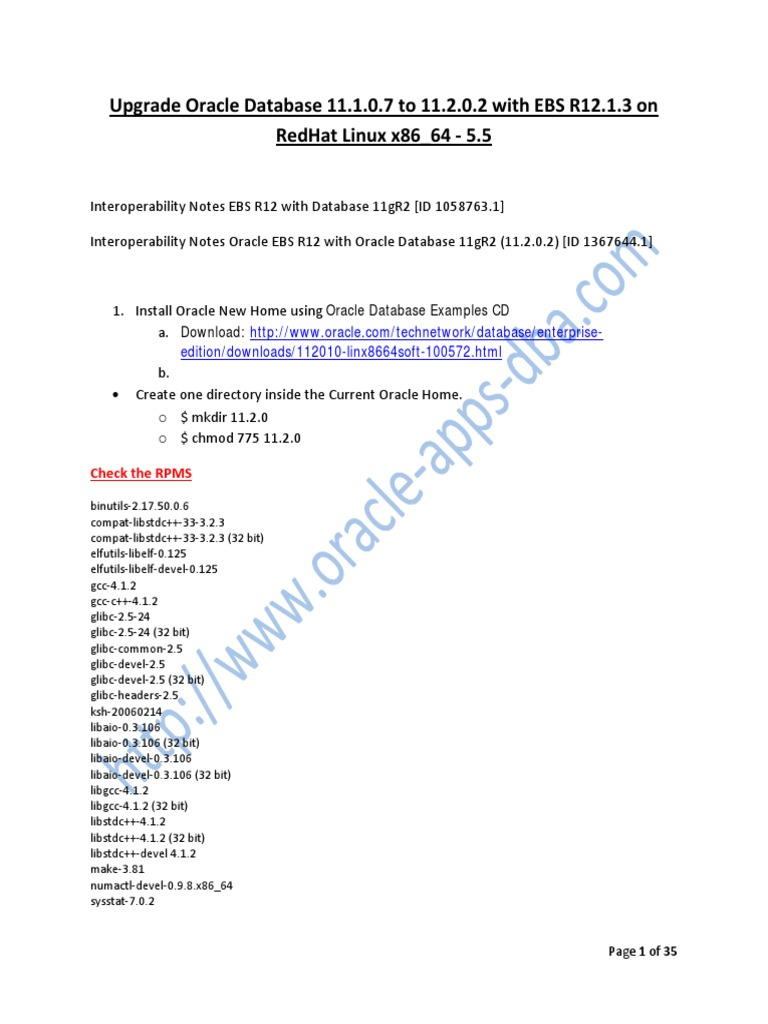 Oracle-Database-upgrade-11 1 0 7-to-11 2 0 2-with-EBS-R12 1 3-on