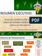 Export Plan IRUPANA 2015