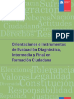 Instrumento de Evaluación - 2 Medio
