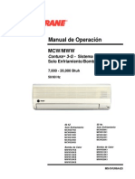 Manual de servicio y mantto a minisplit trane.PDF