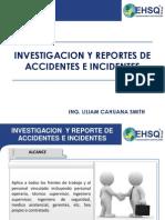 Investigacion y Reporte de Accidentes Cc