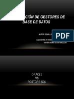 comparaciondegestoresdebasededatos-120614210141-phpapp01
