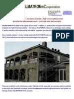 Stucco Admixture Kalmatron KF-A