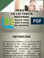 Características de La Lactancia Materna