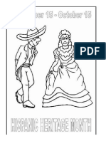 Coloring Sheets Hispanic Heritage Month