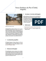 Hospital Nossa Senhora Da Paz (Cubal, Angola)