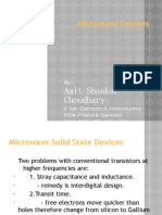 Microwave Solid State Device