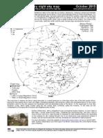 Star Map Oct 2015