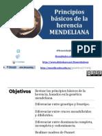 Clase 1. Gen-Mendeliana 2014