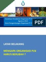 Organisasi PLN
