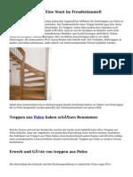 Treppe aus Polen - Eine Staat im Freudentaumell