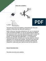 Transistor de Inducción Estática