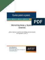 AFIP - Paso a Paso - Solicitud de Autorización de Impresión de Comprobantes