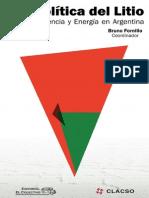 Colección ensayo e investigación Geopolítica del Litio Industria, Ciencia y Energía en Argentina