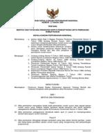 Peraturan Kepala Bpn Nomor 2 Tahun 1989 Ttg Bentuk Dan Tatacara Pengisian Serta Pendaftaran Akta Pemisahan Rumah Susun