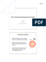 cell biology lecture 2 -  Chemical Components of Cell