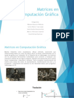 1.5 Síntesis Matrices en Computación Gráfica